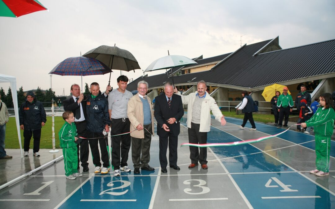 Inaugurazione Nuova Pista di Atletica a GAVARDO 6 giugno 2006