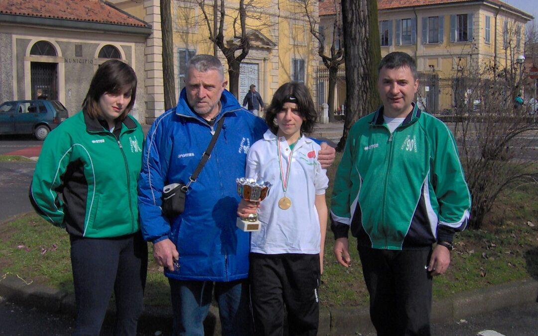 Campionati Regionali Cross Giovanili MONZA – 26 febbraio 2006