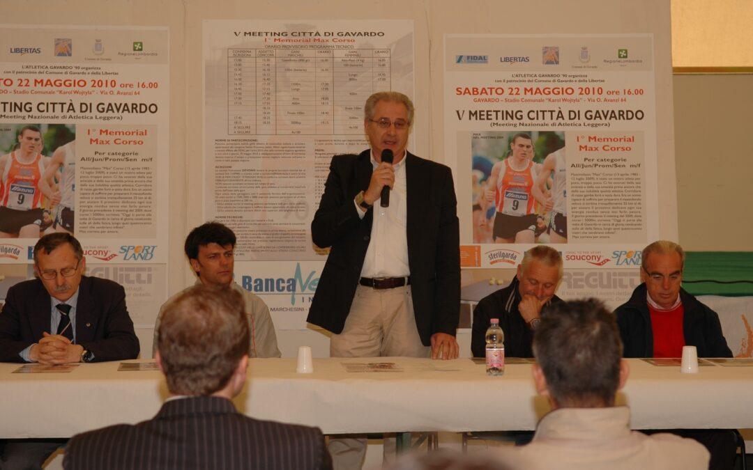 MEETING Nazionale 2010 – Presentazione 18 maggio